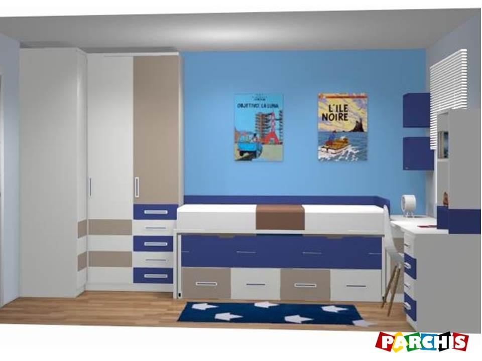 Muebles Parchís, S.L. Mobiliario Infantil y Juvenil