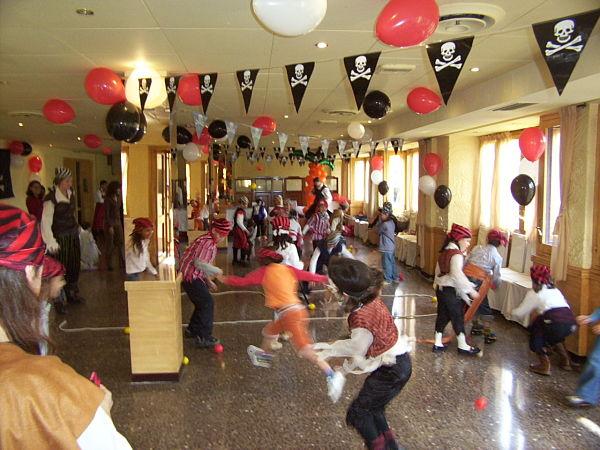 Fiesta tematica pirata