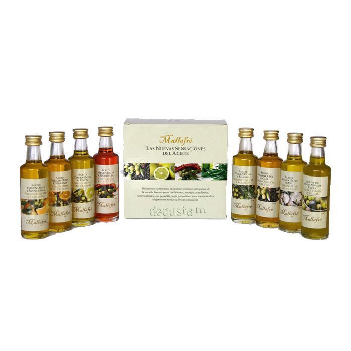 Selección de aceites aromatizados