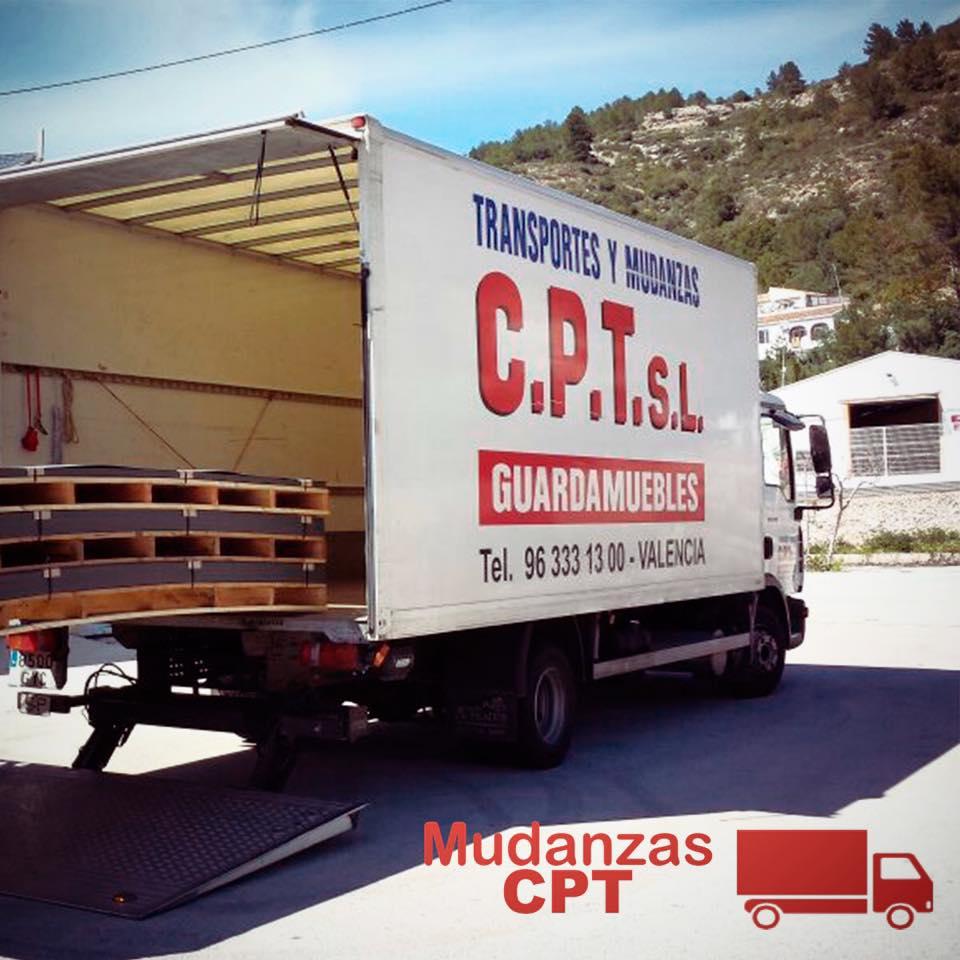 Camión Mudanzas CPT