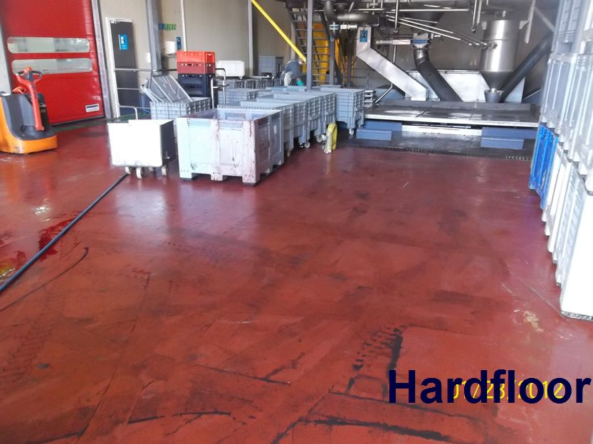 HARDFLOOR, S.L.U Pavimentos Industriales de Resina