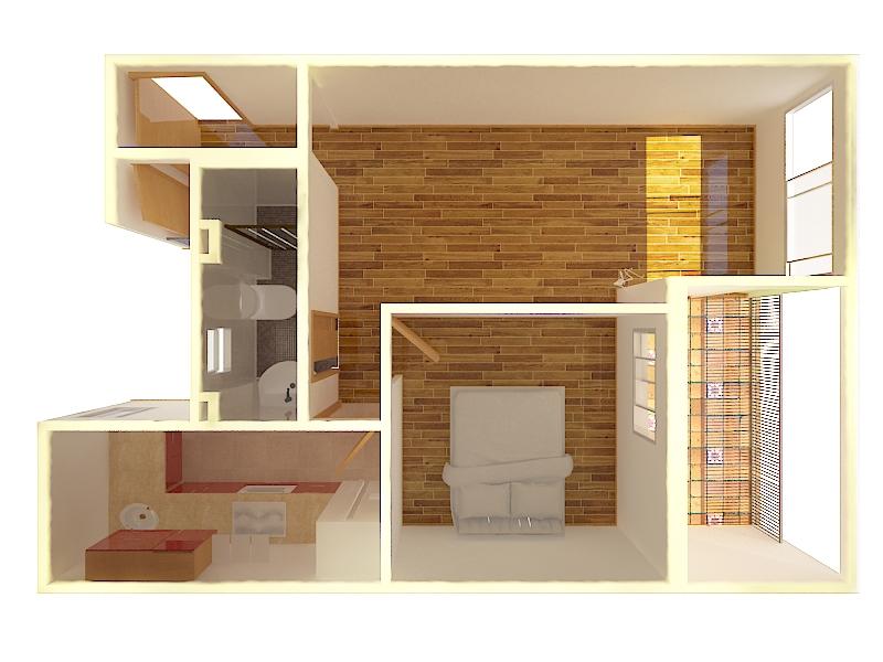 Plano 3D -  Servicios de Imagen inmobiliaria