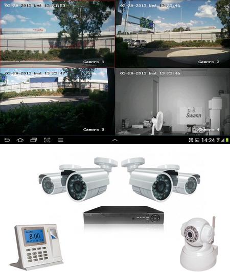 Cámaras de Vigilancia en Asturias VISERCO