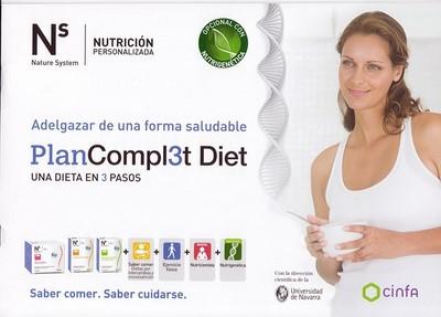 Ns Plan Complet Diet de Cinfa, con farmacia Altuna, consigue controlar tu peso