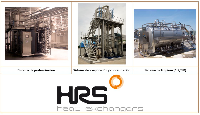 Sistemas de tratamiento térmico para industria alimentaria