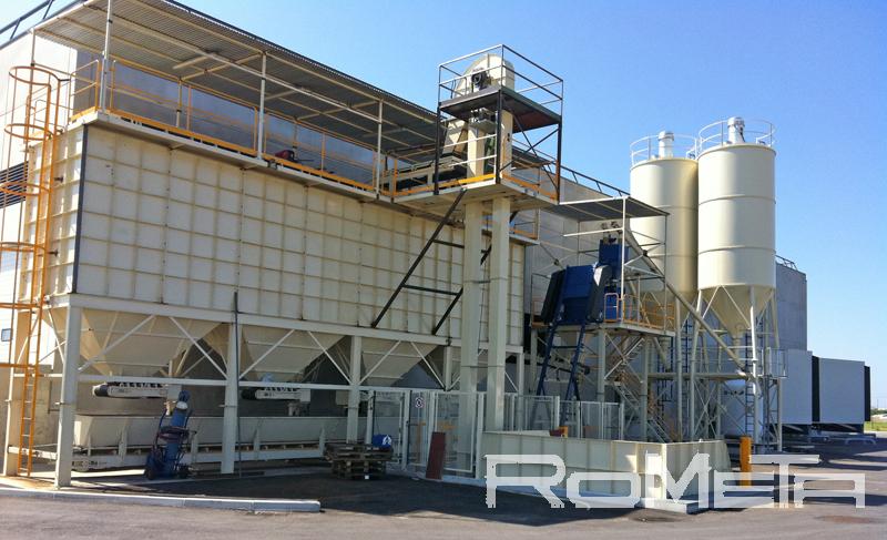 Rometa, S.A. Bloqueras y plantas de concreto