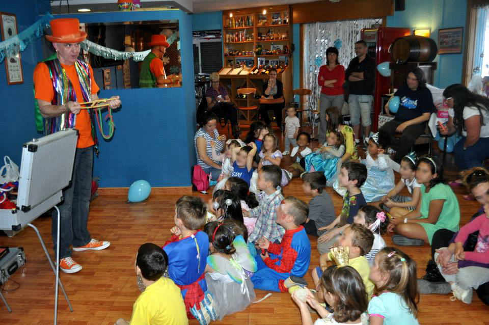 Animador, Mago para fiestas infantiles