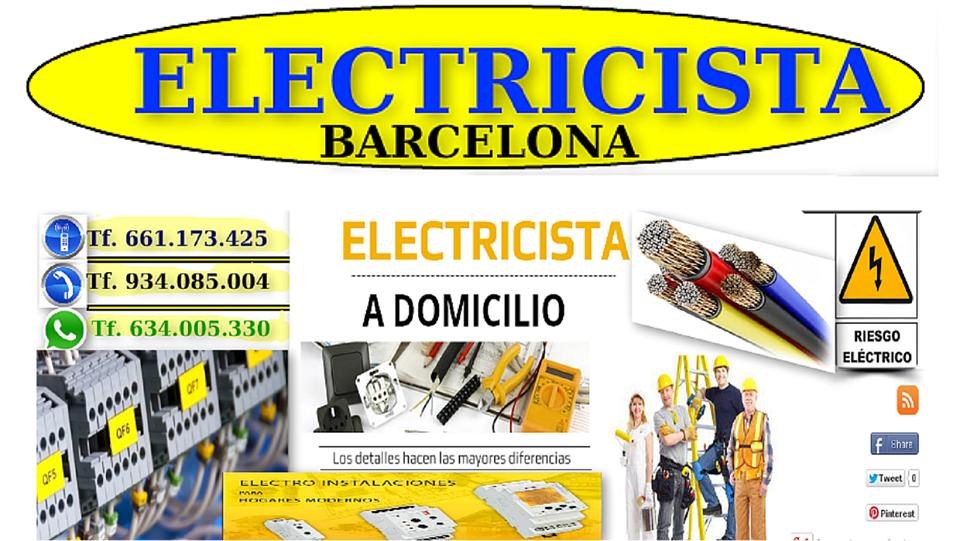 Electricista Electricidad Barcelona