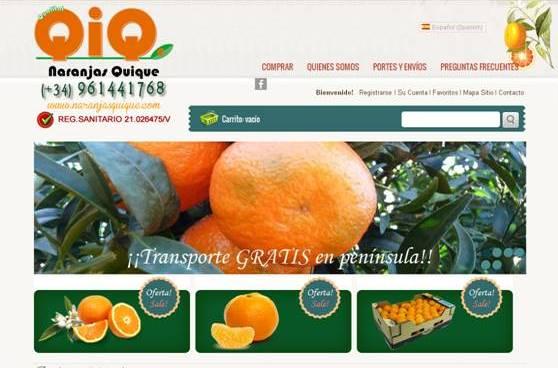 QiQ SORIANO ZURIAGA, S.L. Naranjas Quique
