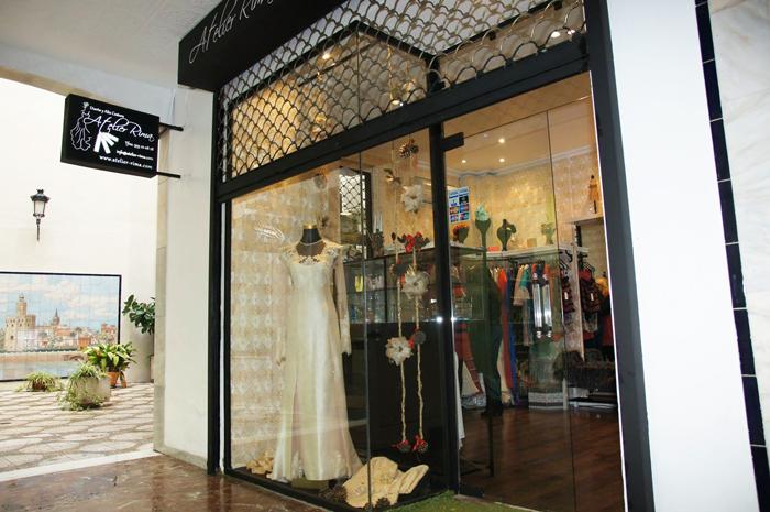 Boutique Atelier Rima, Diseño y Alta Costura en pleno centro de Sevilla