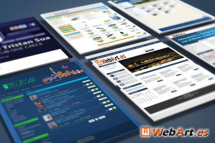 WebArt.es   Arte en Crear Página Web