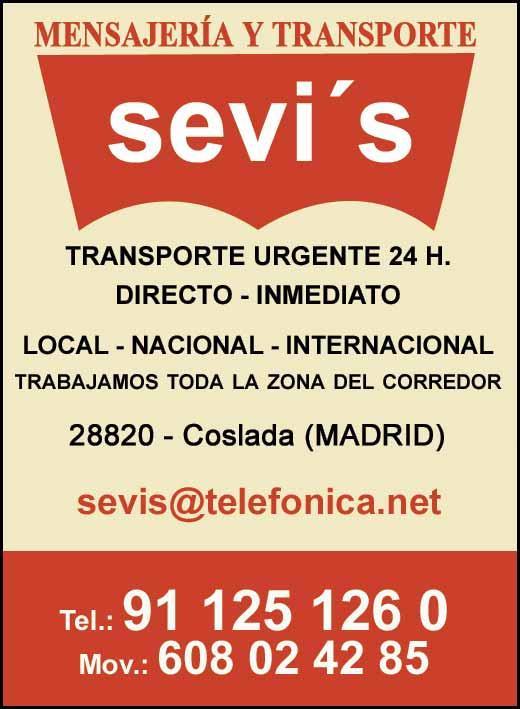 Sevi's Mensajería y Transporte Urgente