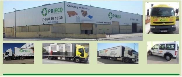 PRIECO Prioridades Ecológicas, S.L. Palets y Envases Reciclados