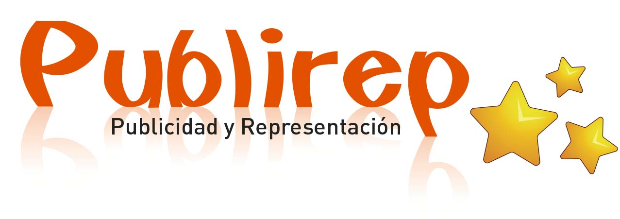 Logo Publirep, Publicidad y Representaciones