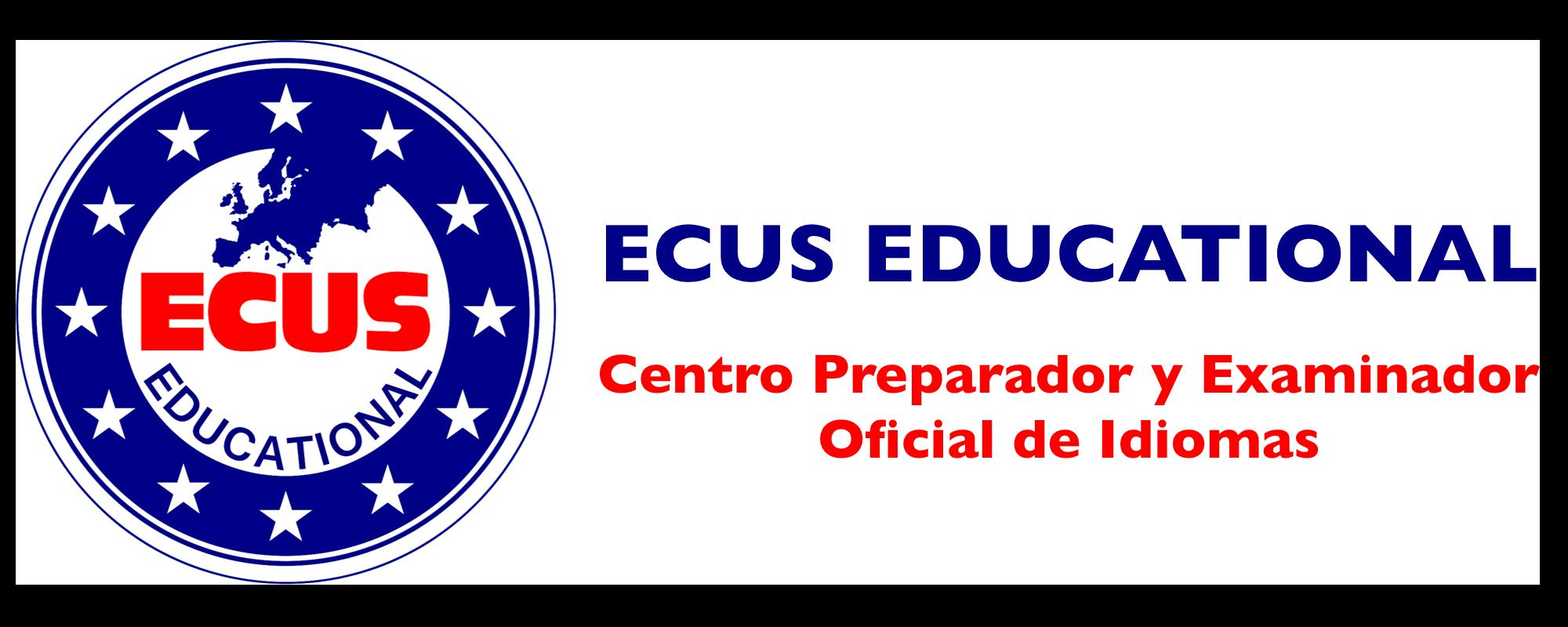 Logo ECUS Educational, S.L.U. Centro oficial de exámenes de idiomas Cambridge y Oxford