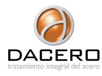 Logo Tratamiento Integral del Acero, S.A. DACERO