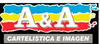 Logo A&A Rótulos