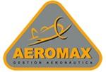 Logo Aeromax, S.L. Escuela de Pilotos de Vuelo