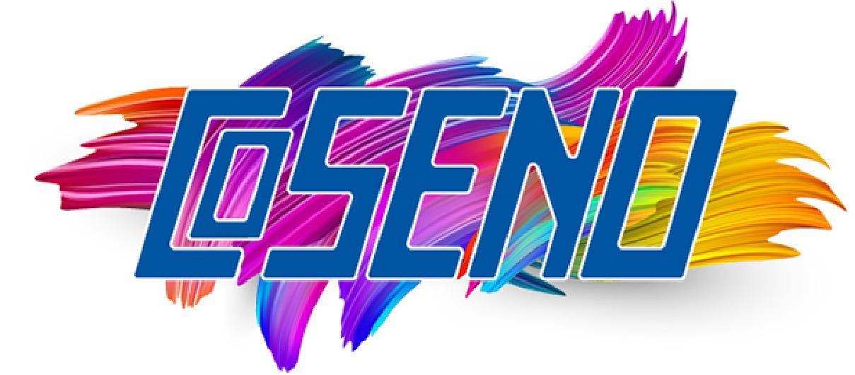 Logo COSENO Comercial Serigráfica del Norte