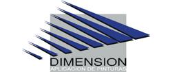 Logo DIMENSIÓN Aplicación de Pinturas