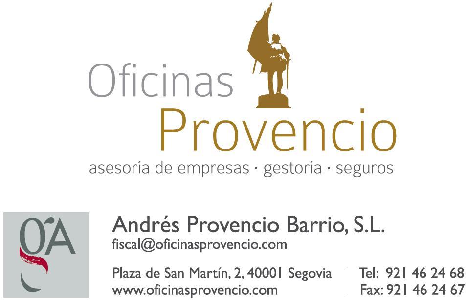 Logo OFICINAS PROVENCIO Andrés Provencio Barrio, S.L.