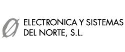 Logo Electrónica y Sistemas del Norte