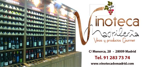Logo Vinoteca Madrileña