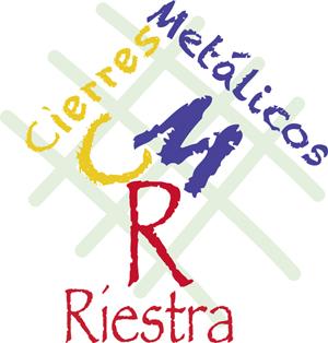 Logo CMR Cierres Metálicos Riestra