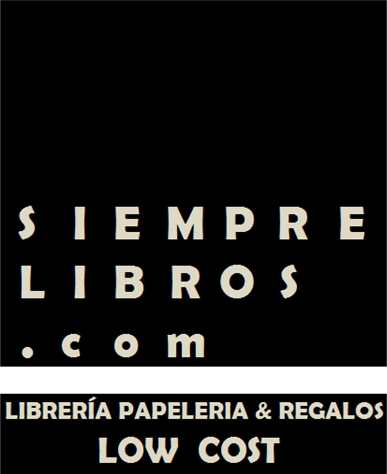Logo SiempreLibros.com ? Librería, papelería y regalos low cost ? Libros baratos online