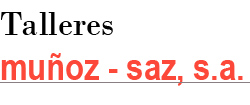 Logo Talleres Muñoz - Saz, S.A.