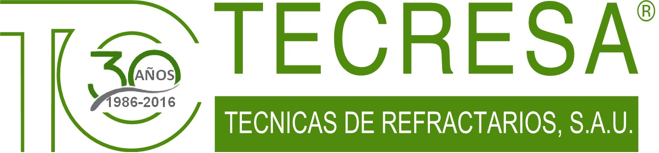 Logo TECRESA Técnicas de Refractarios, S.A.U.