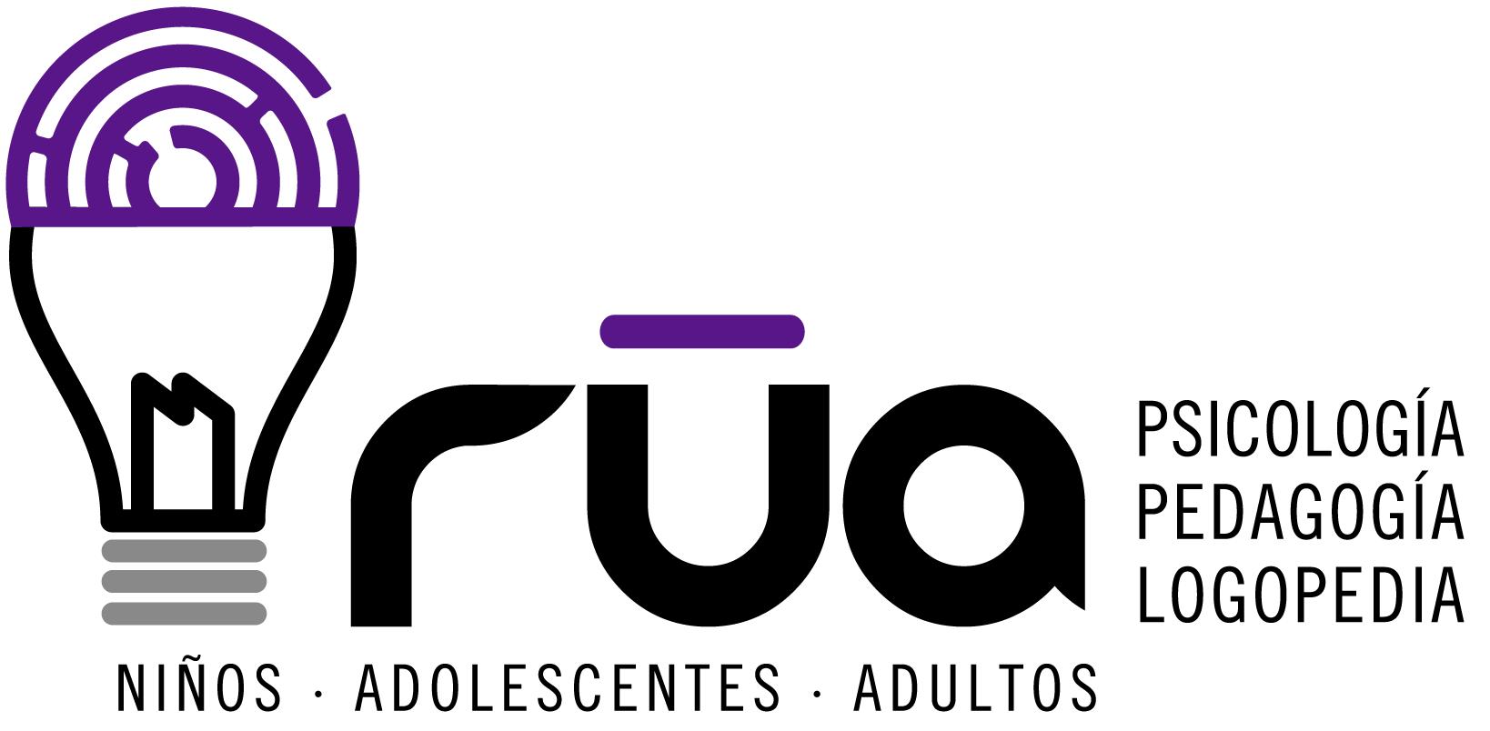 Logo Centro Rúa Psicología, Pedagogía y Logopedia