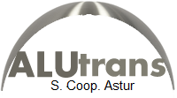 Logo ALUtrans S. Coop. Astur
