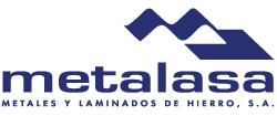 Logo METALASA Metales y Laminados de Hierro, S.A.