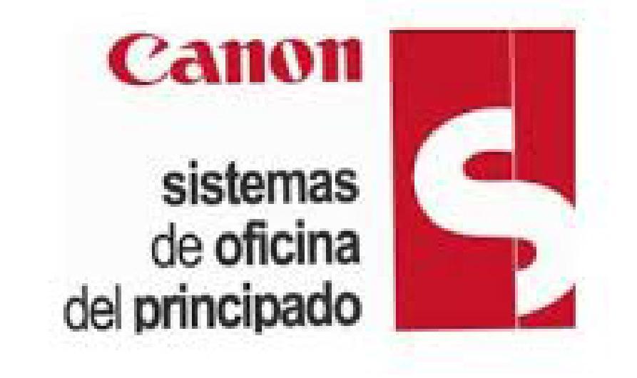 Logo CANON - SIEMENS Sistemas de Oficina del Principado, S.L. Gijón