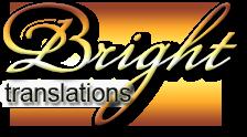 Logo Bright Translations - Traductores