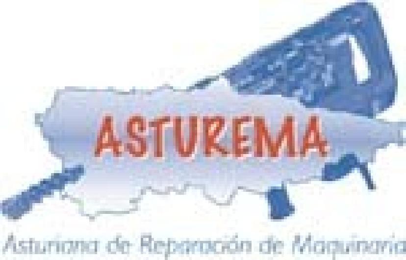 Logo Grupo Asturema, S.L. Asturiana de Reparación de Maquinaria